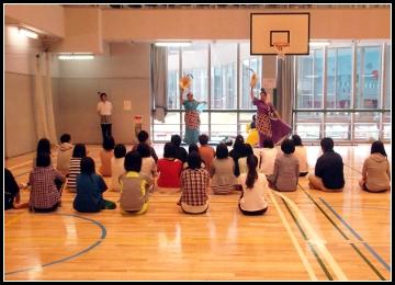 東京エア・トラベル専門学校ダンス授業1