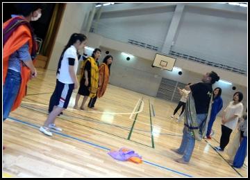 東京エア・トラベル専門学校ダンス授業2