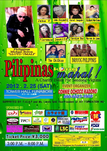 charity event for sendong victims